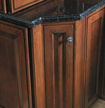 Base z angle traditional kitchen cabinetry other for Angled kitchen cabinets