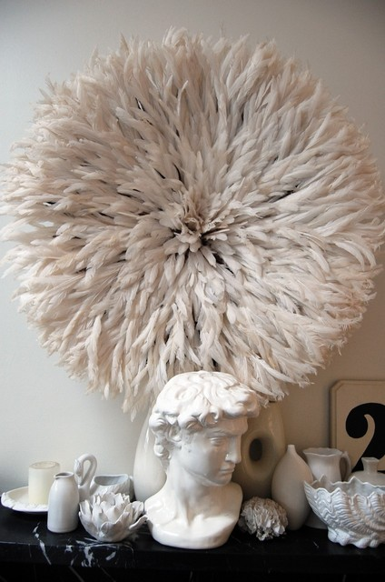 Bamileke Feather Juju Hat eclectic-artwork
