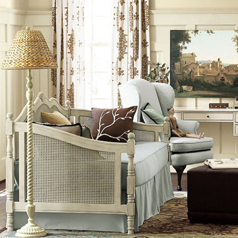 Cane Daybed traditional-daybeds