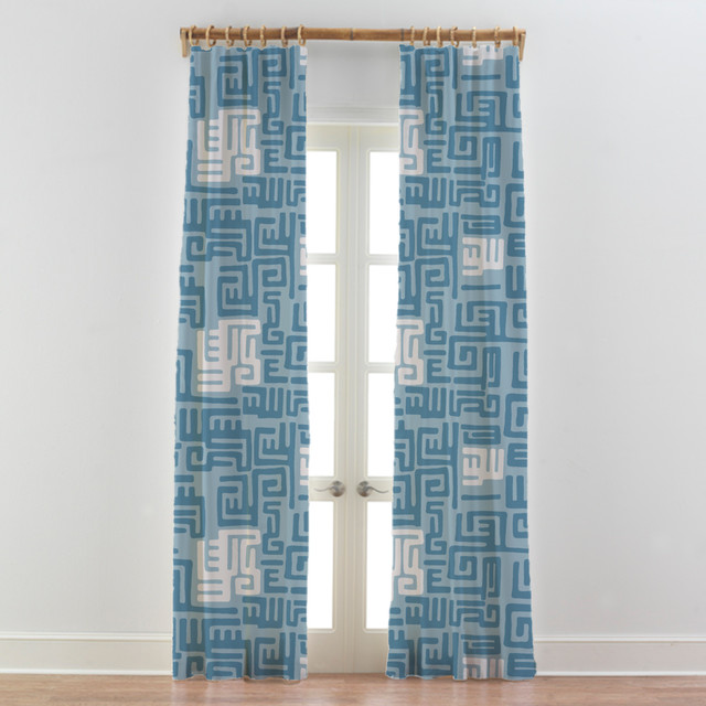 Kitchen Curtain Ideas South Africa: Tribal African Curtains Drapes Kuba Cloth