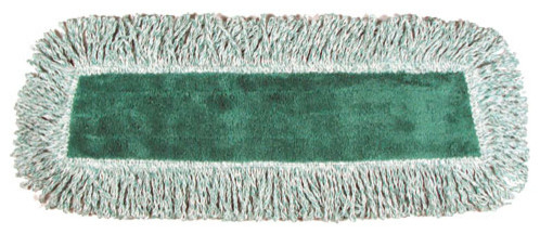 """18"""" Microfiber Dry Pad Green modern-mops-brooms-and-dustpans"""