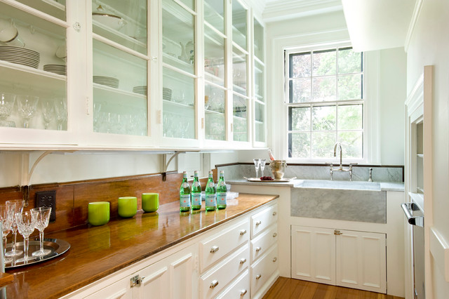 Classic Colonial Revival Traditional Kitchen Boston
