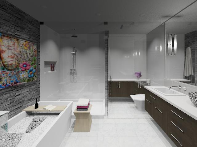 THE WET ZONE contemporary-bathroom