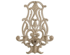 Handcarved French Sconce traditional-candles-and-candle-holders