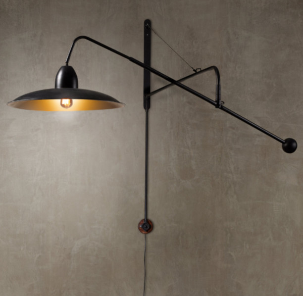 """1940s Architect""""s Boom Sconce traditional-wall-sconces"""