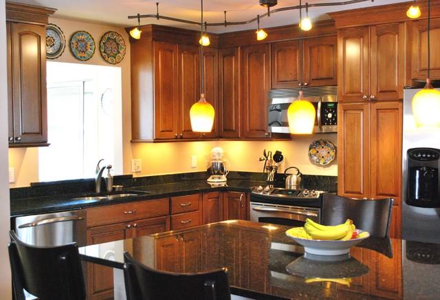 Kitchen Track Lighting Interiors Design