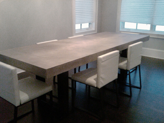 Zen Concrete Table - contemporary - dining tables - new york - by