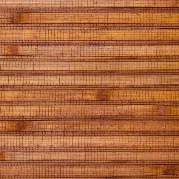 Bamboo Ochre Grass Cloth Wallpaper beach-style-wallpaper