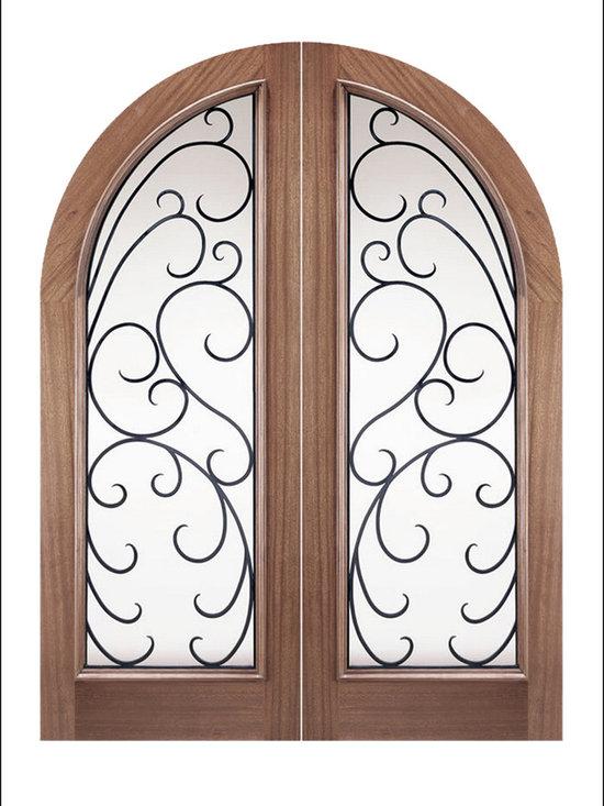 OLD WORLD ENTRY DOORS MODEL # 167 Ibiza -