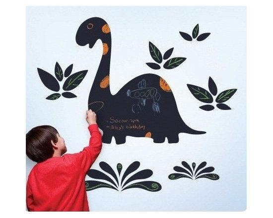 Wallcandy Arts Dinosaur Chalkboard Wall Decal - Wallcandy Arts Dinosaur Chalkboard Wall Decal