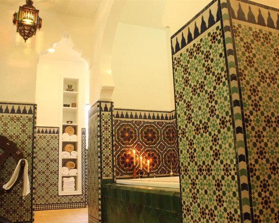 Le Mosaiste - Hammam Style Bathroom - Bathroom Remodel in Los Angeles, CA