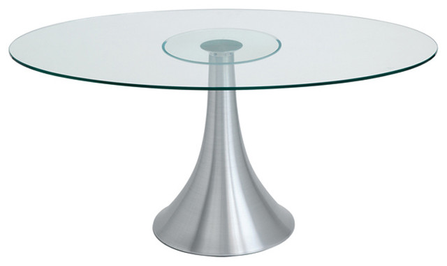 Satellite Oval Dining Table - modern - dining tables - by Inmod