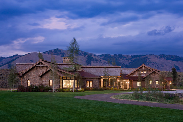 Wyoming Residence traditional-exterior