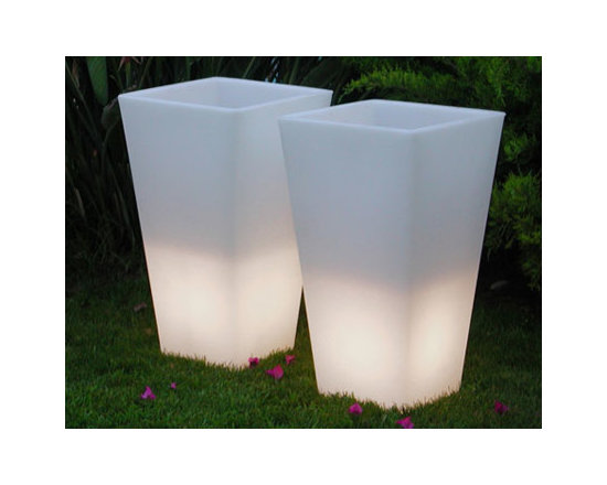 X & Y Light Pots -