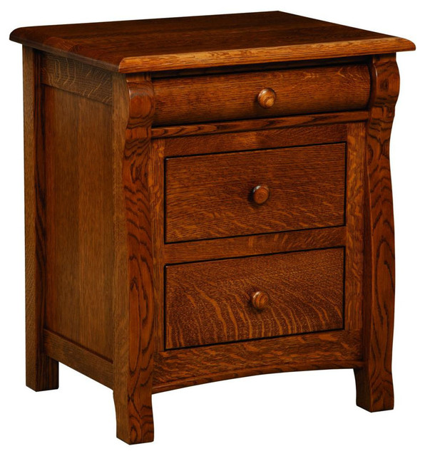 Cambridge Nightstand - Nightstands And Bedside Tables - by Modern Furniture Warehouse
