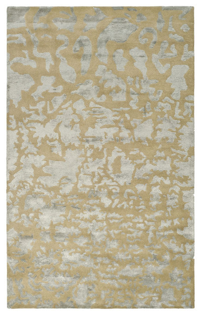 Gold and Silver Modern Rug from Safavieh contemporary rugs