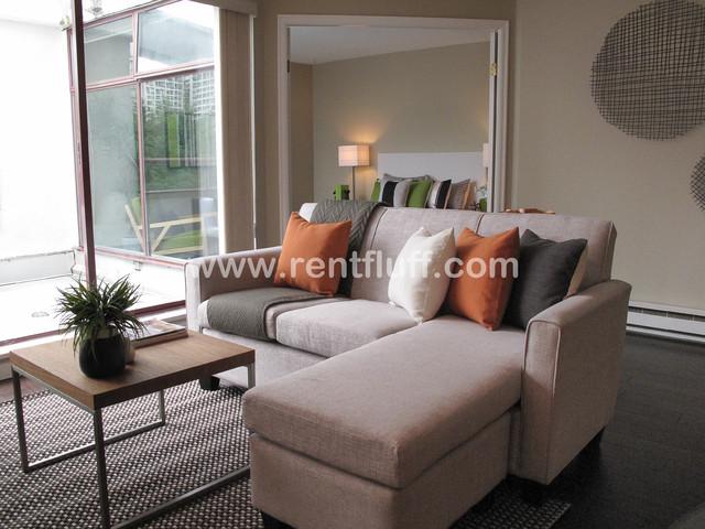 2668 West End Condo Contemporary Living Room