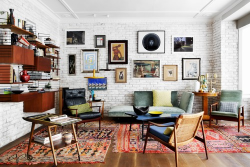 Phillys homes get the boho chic look for Modern eclectic furniture