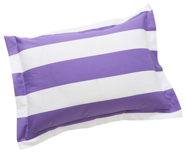 Cottage Stripe Sham contemporary-pillowcases-and-shams