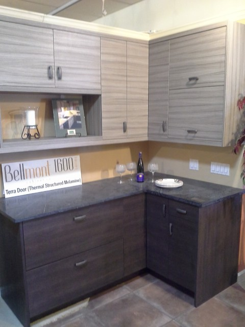 Kitchen Thermal Melamine Cabinets Modern Kitchen Cabinetry