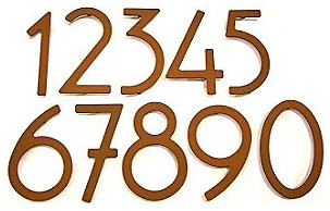 House Numbers by HouseArt contemporary-house-numbers