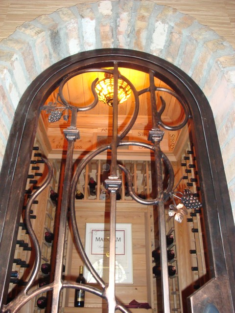 Forge Iron Designs Wrought Iron Wine Cellars