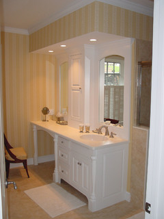 Bathroom Vanity & Makeup Area - Traditional - Bathroom Vanities And Sink Consoles - portland ...