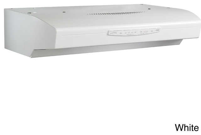 Broan QS330 Allure Series 30-inch Under Cabinet 430 CFM Range Hood - Contemporary - Range Hoods ...