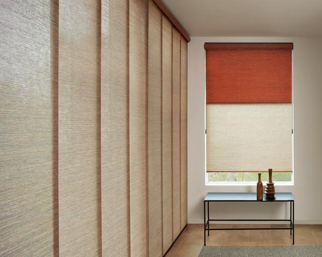Skyline Gliding Panels - Vertical Blind Window Coverings - Modern - Vertical Blinds - st louis ...