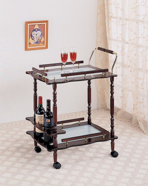 Cherry Traditional Serving Cart