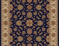 Como Navy Rug modern-rugs