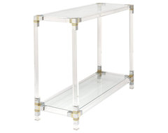 French Vintage Console Table contemporary side tables and accent tables