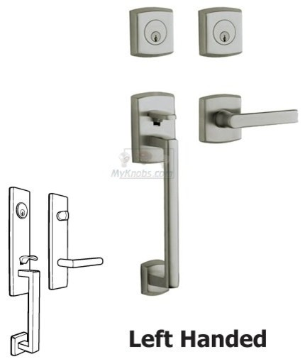 MODERN HANDLESET LOCK - Contemporary - Front Doors - other metro - by MyKnobs