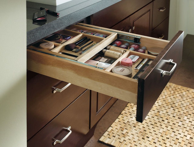 Schrock Vanity Cosmetic Drawer Traditional Other Metro
