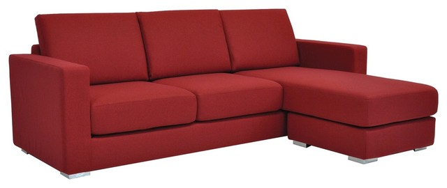 paria modern sofa sectional by sohoconcept rouge red contemporary sectional sofas orange county