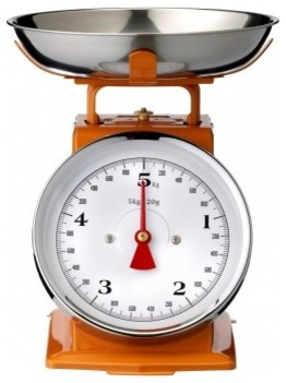Kitchen Scale, Orange eclectic-timers-thermometers-and-scales