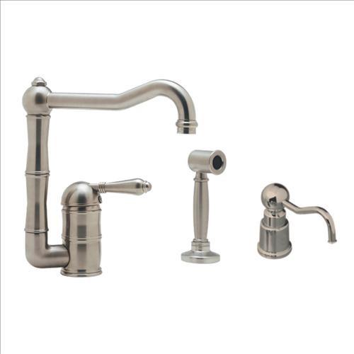 Rohl AKIT36082LMWSSTN-2 Kitchen Faucet traditional-kitchen-faucets