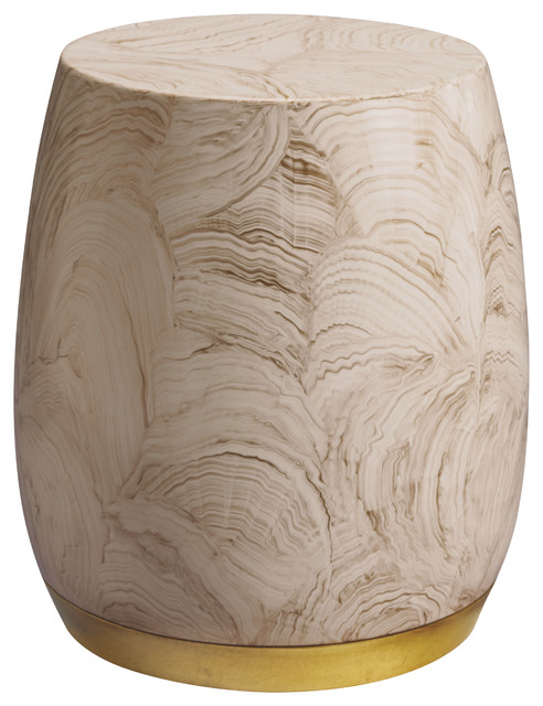 Bauble Drum - Baker Furniture modern side tables and accent tables