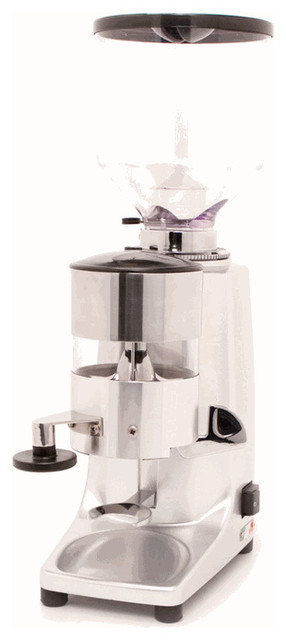 Coffee Maker With Grinder Timer : Quamar M80 Timer Grinder in Silver - Contemporary - Coffee Grinders - by Whole Latte Love