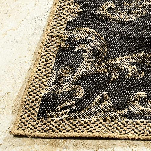 Acanthus all weather rugs traditional outdoor rugs for All weather patio rugs