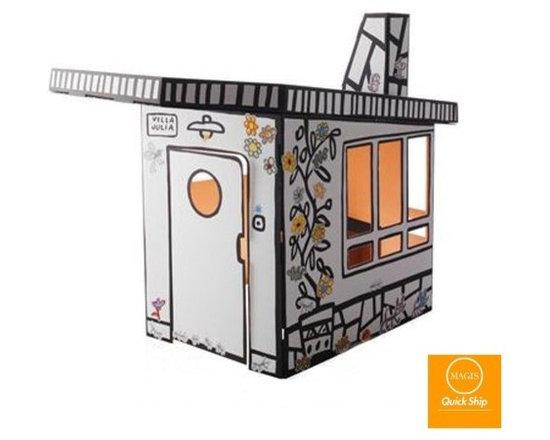Magis - Magis | Villa Julia Small Cardboard House, Quick Ship - Design by Javier Mariscal, 2009.