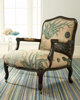 """La Jolla"" Chair traditional-armchairs-and-accent-chairs"