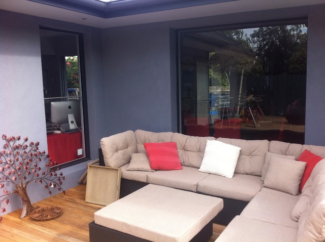 Timber Sashless Window & Fixed Window Replacement in Brighton, Melbourne contemporary-windows