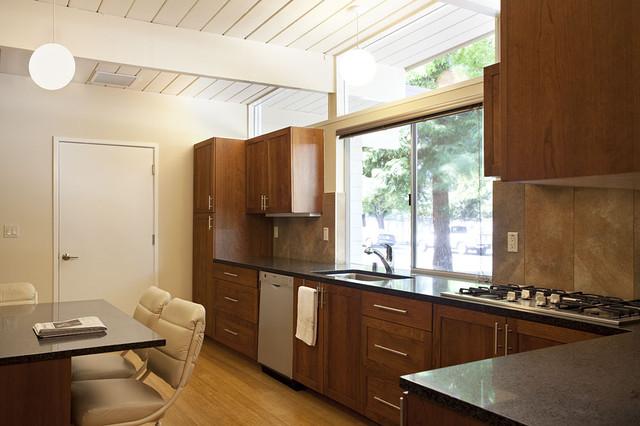 32. Small 1950s Eichler Expansion midcentury-kitchen