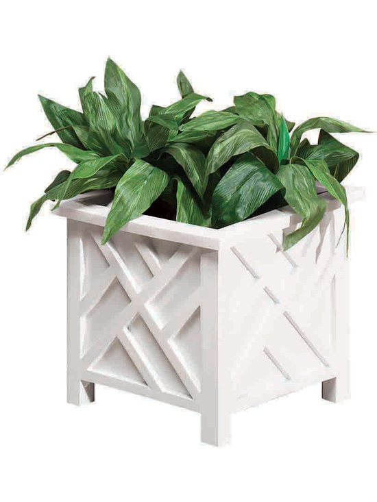 Miles Kimball Chippendale Planter -