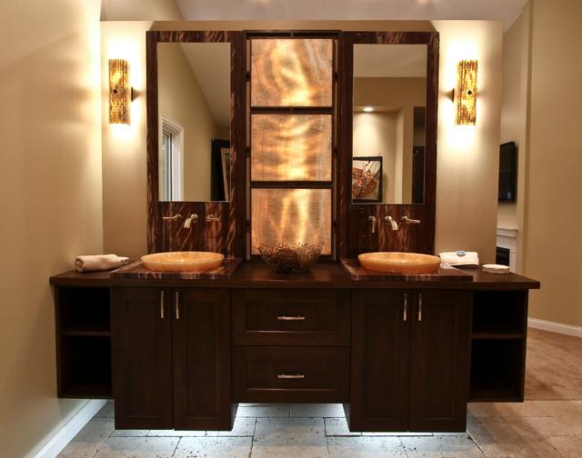 Wall Mount Vanity contemporary-bathroom