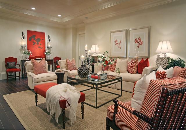 Traditions II @ Grey Oaks beach-style-living-room