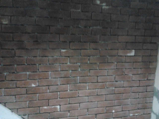 Brick Veneer Wall Rustic Toronto By Golden Hands
