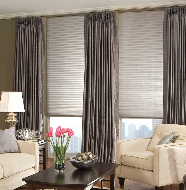american blinds signature pleated shades contemporary