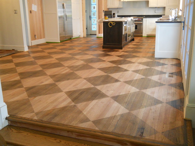 Wood floor designs traditional new york by arlene for Hardwood floor designs